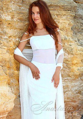 Ukraine woman Alla from Odessa 32 yo hair color Red